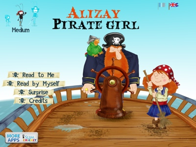 Alizay, Pirate Girl