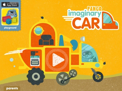 Pango's Imaginary Car