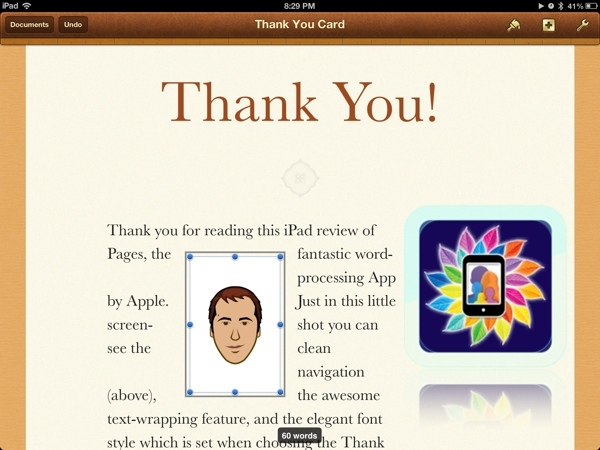 Pages by Apple, the iPad Word Equivalent